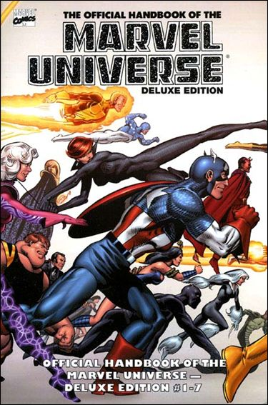 Essential Official Handbook of the Marvel Universe - Deluxe Edition 1-A by Marvel