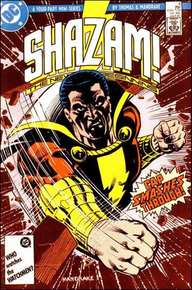 Shazam: The New Beginning 4-A by DC