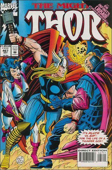Thor (1966) 467-A by Marvel