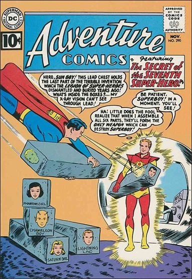 Adventure Comics (1938) 290-A by DC
