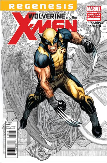 Wolverine & the X-Men 1-C by Marvel