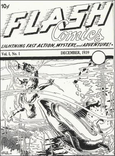 Flash Comics (1939) Ash Can-A by DC