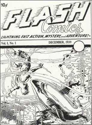 Flash Comics (1939) Ash Can-A