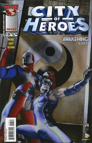 City of Heroes (2005) 13-A by Top Cow