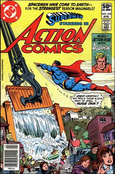 Action Comics (1938) 518-A by DC