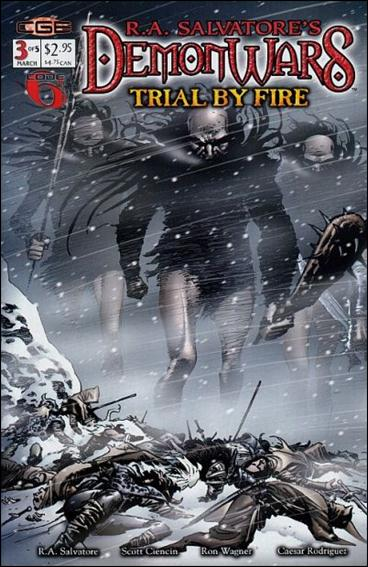 R.A. Salvatore's DemonWars: Trial by Fire 3-A by CrossGen
