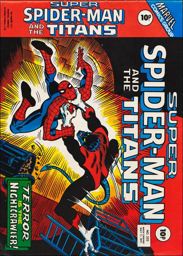 Spider-Man: Comics Weekly (UK) 222-A by Marvel UK