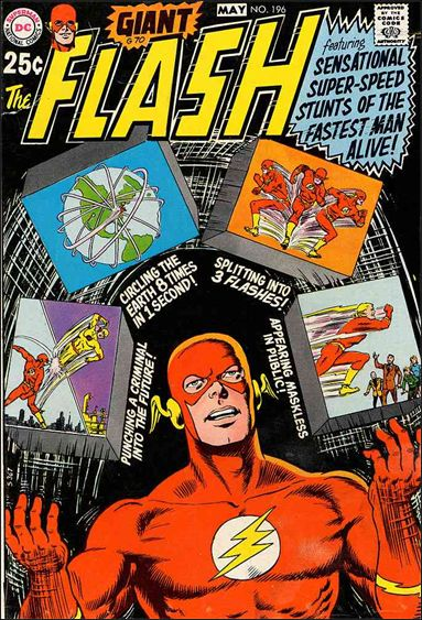 Flash (1959) 196-A by DC