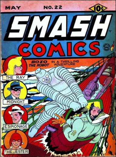 Smash Comics (1939) 22-A by Quality