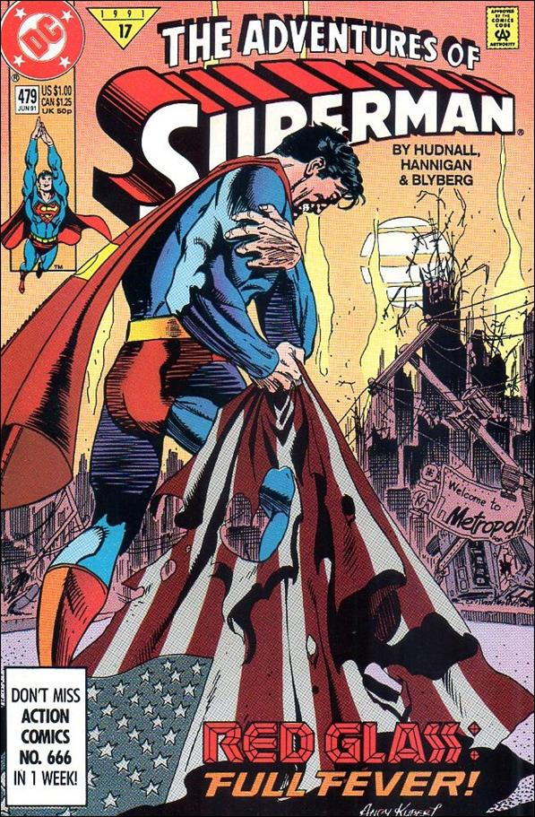 Adventures of Superman (1987) 479-A by DC