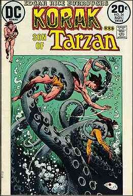 Korak, Son of Tarzan 54-A by DC