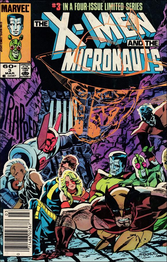 X-Men and the Micronauts 3-A by Marvel