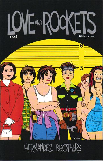 Love and Rockets (2001) 1-A by Fantagraphics