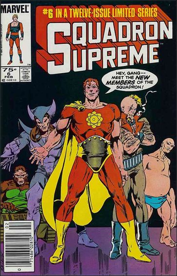 Squadron Supreme (1985) 6-A by Marvel