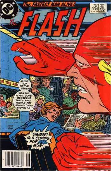 Flash (1959) 334-A by DC