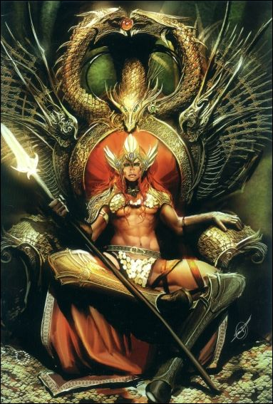 Savage Tales (2007) 4-C by Dynamite Entertainment