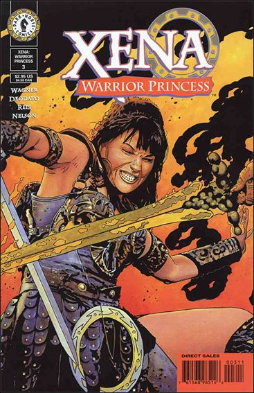 Xena: Warrior Princess (1999) 3-A by Dark Horse