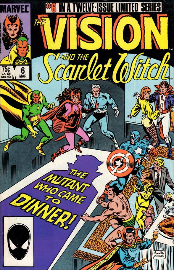 Vision and the Scarlet Witch (1985) 6-A by Marvel