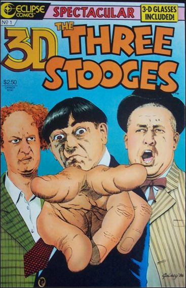 3-D Three Stooges 1-A by Eclipse
