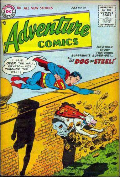 Adventure Comics (1938) 214-A by DC
