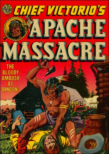 Chief Victorio's Apache Massacre 1-A by Avon