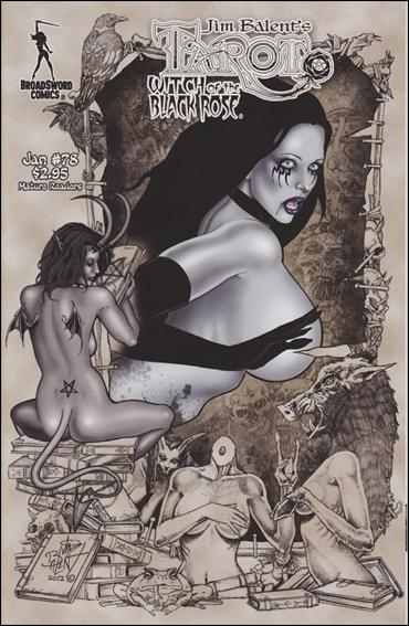 Tarot: Witch of the Black Rose 78-A by BroadSword Comics