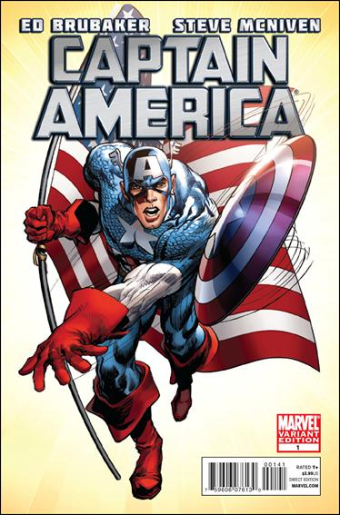 Captain America (2011) 1-D by Marvel