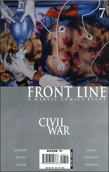Civil War: Front Line 7-A by Marvel