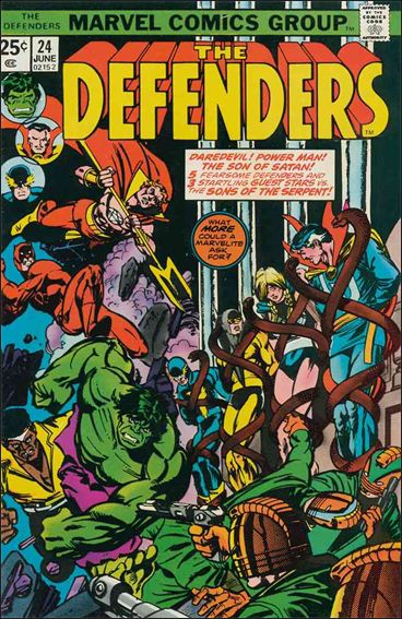 Defenders (1972) 24-A by Marvel
