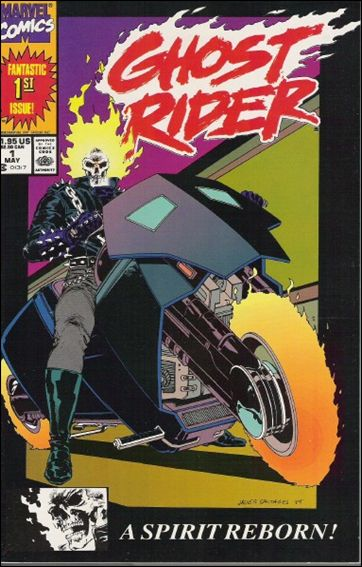 Ghost Rider (1990) 1-B by Marvel