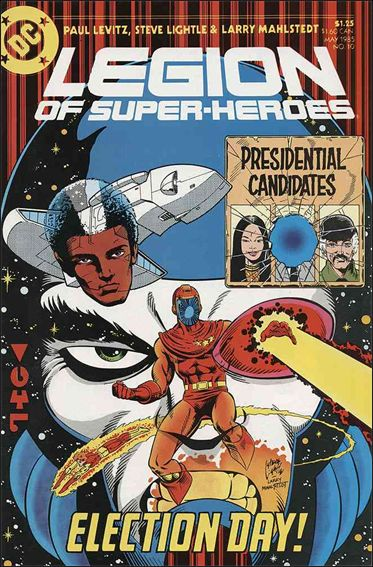 Legion of Super-Heroes (1984) 10-A by DC