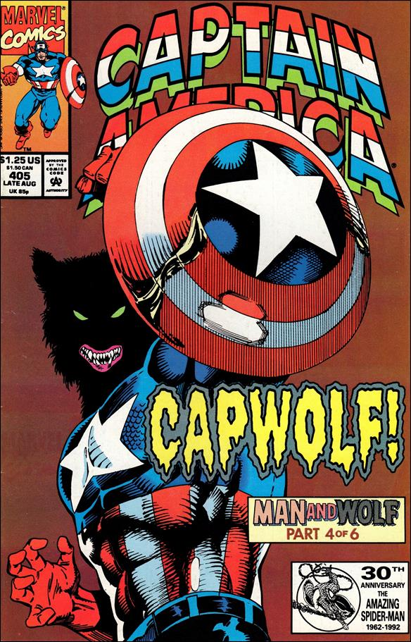 Captain America (1968) 405-A by Marvel