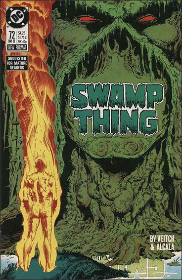 Swamp Thing (1986) 72-A by Vertigo