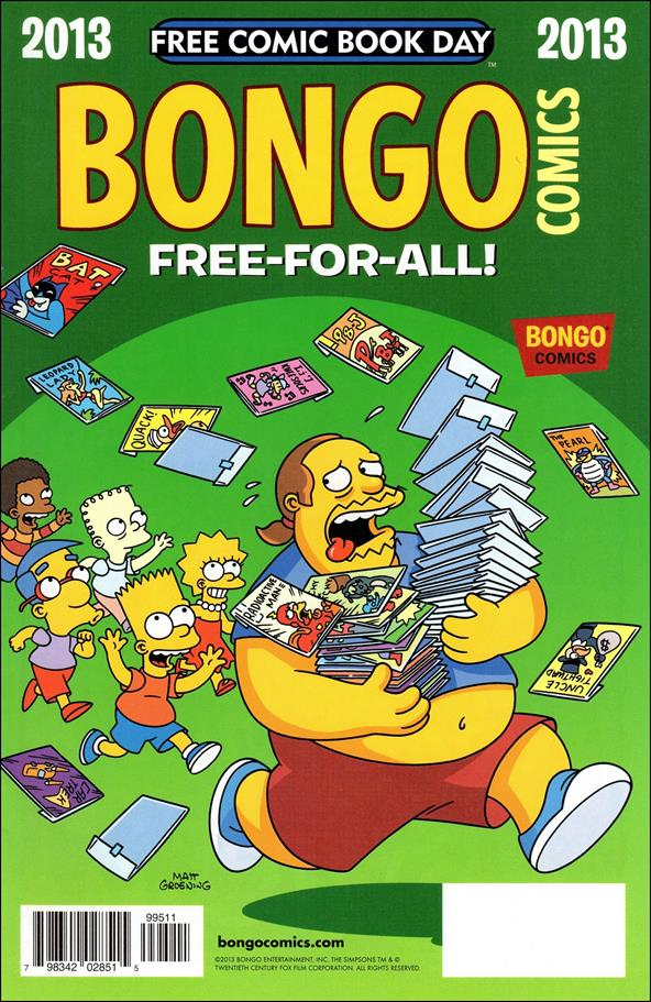 Bongo Comics Free-For-All! 2013-A by Bongo