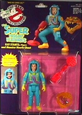 Real Ghostbusters: Super Fright Features Ray Stantz and Monster Mouth Ghost by Kenner