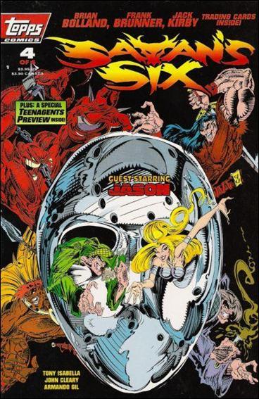 Satan's Six 4-B by Topps