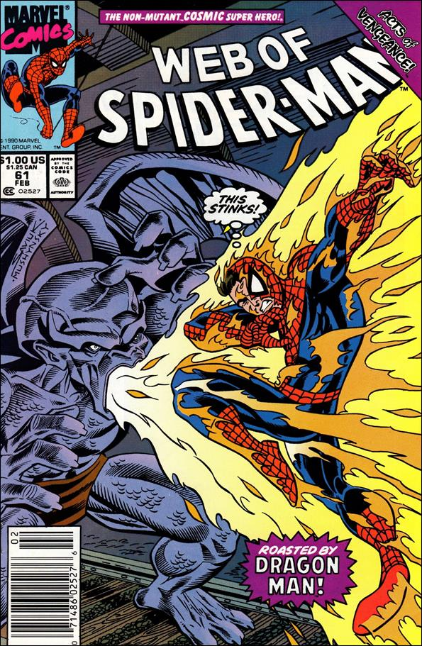 Web of Spider-Man (1985) 61-A by Marvel