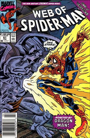 Web of Spider-Man (1985) 61-A