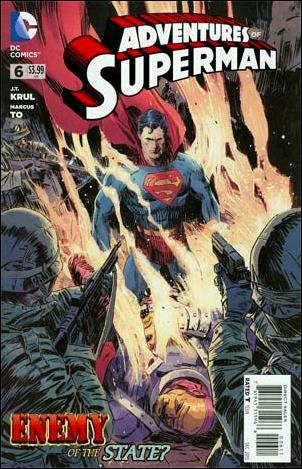 Adventures of Superman (2013) 6-A by DC
