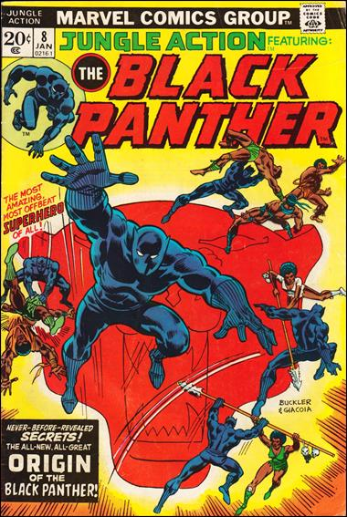 Jungle Action (1972) 8-A by Marvel