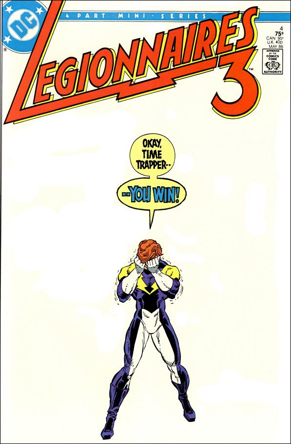 Legionnaires Three 4-A by DC