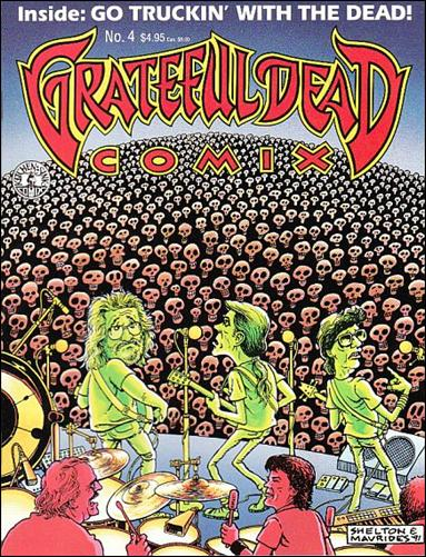 Grateful Dead Comix (1991) 4-A by Kitchen Sink