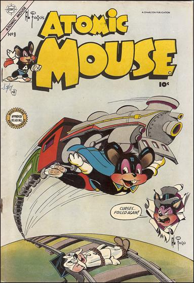 Atomic Mouse (1953) 9-A by Charlton
