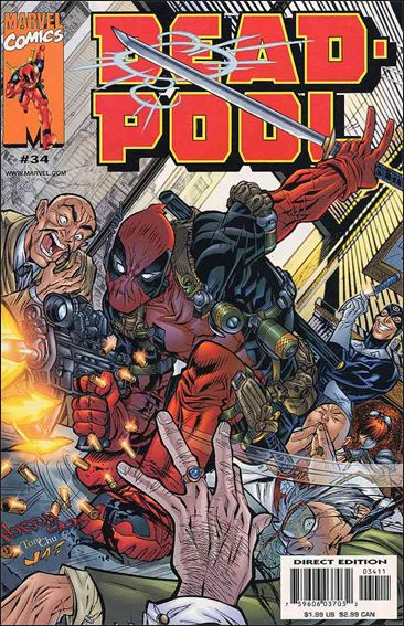 Deadpool (1997) 34-A by Marvel
