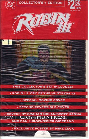 Robin III: Cry of the Huntress 2-B by DC