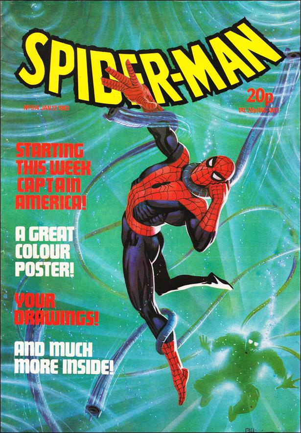 Spider-Man: Comics Weekly (UK) 514-A by Marvel UK