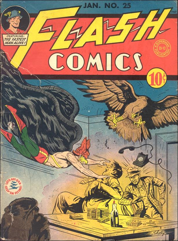 Flash Comics (1939) 25-A by DC