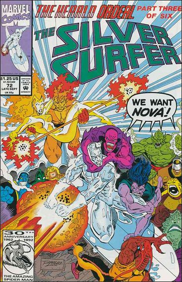 Silver Surfer (1987) 72-A by Marvel