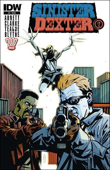 Sinister Dexter (2013) 2-A by IDW