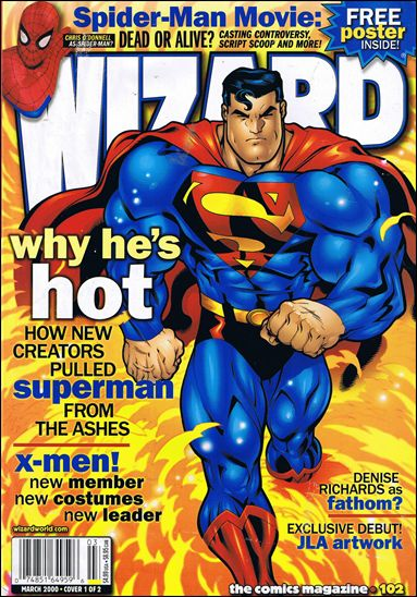 Wizard: The Comics Magazine 102-A by Wizard Press